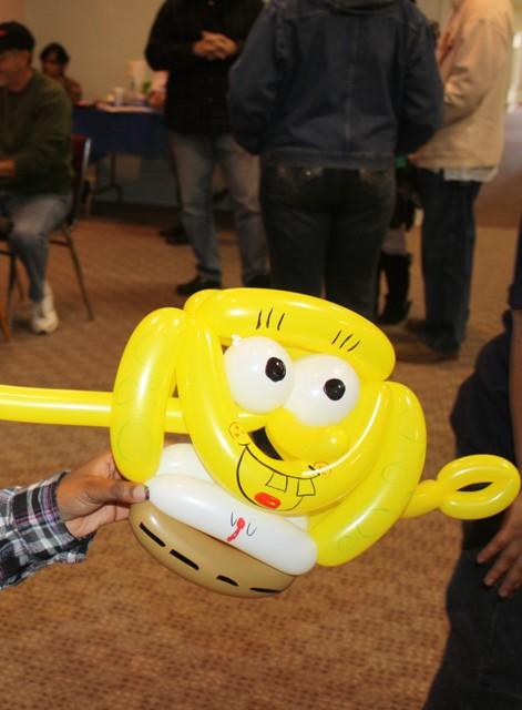 Sponge Bob balloon