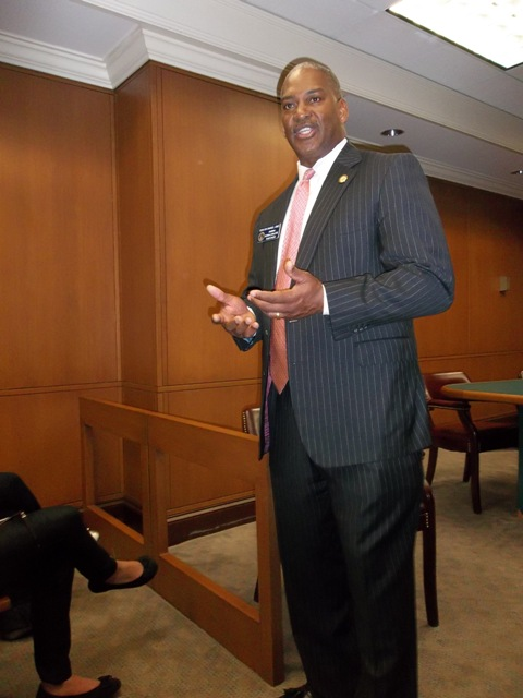 Emanuel Jones, Black Caucus Chair