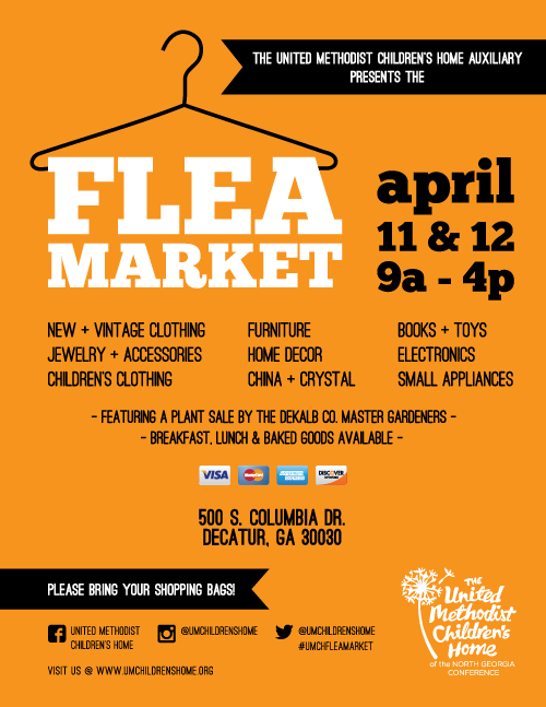 Junk In The Truck And Flea Market Flyer Template Flea Market