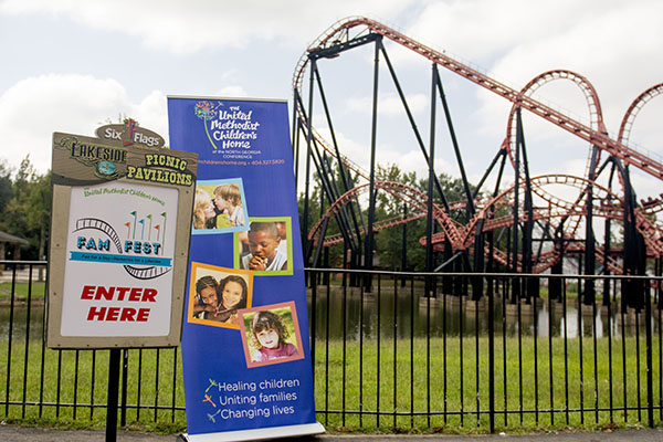 The United Methodist Children's Home held its first annual Fam Fest at Six Flags on Saturday, Sept. 20. More than 500 attendees celebrated a day of fun.