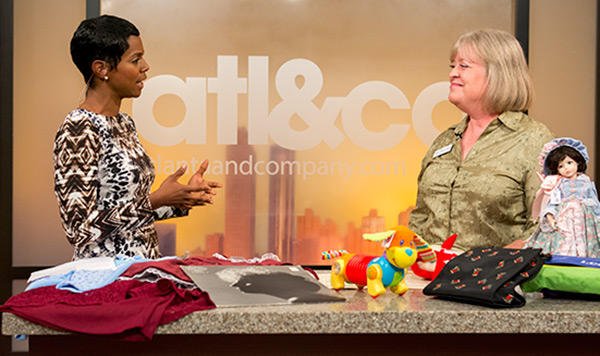Atl & Company host Rashan Ali talks with Sharon Brewer of the Children's Home.