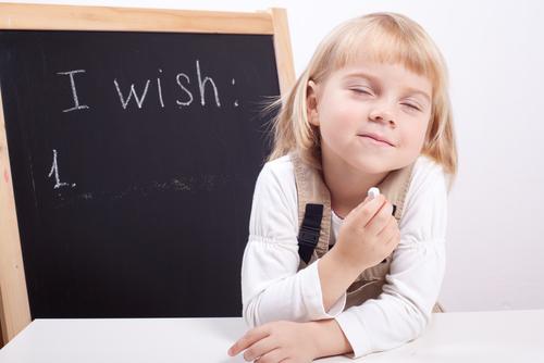 wish list with child image